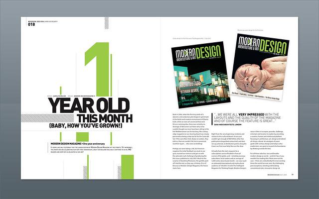 Modern Design Magazine 1 Year Anniversary Flickr