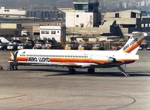 AERO LLOYD MD-83 D-ALLF(cn1435)
