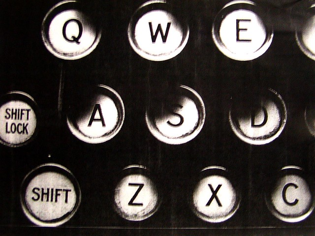 typewriter_keys_round from Flickr via Wylio