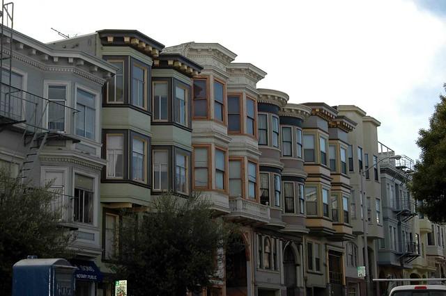 Casas típicas de SF