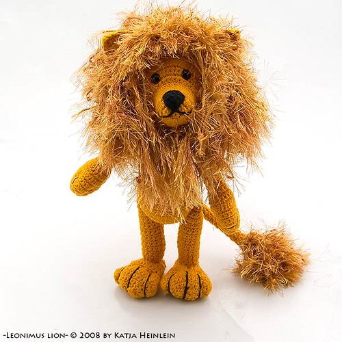 How To Crochet A Lion : photo