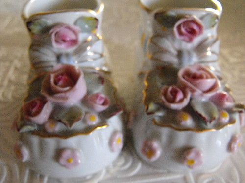 NAPCO Baby Shoes Ribbons and Roses