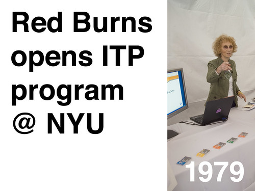 1979-Red Burns Opens ITP Program @ NYU