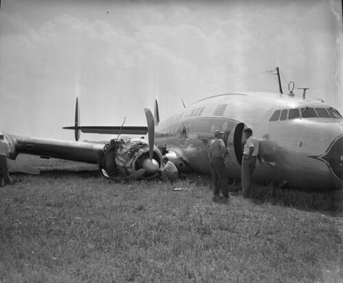 Eastern Air Liner crash landing, Curles Neck Farm