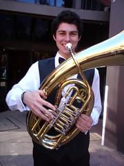 horn, euphonium, brass instrument, wind instrument,