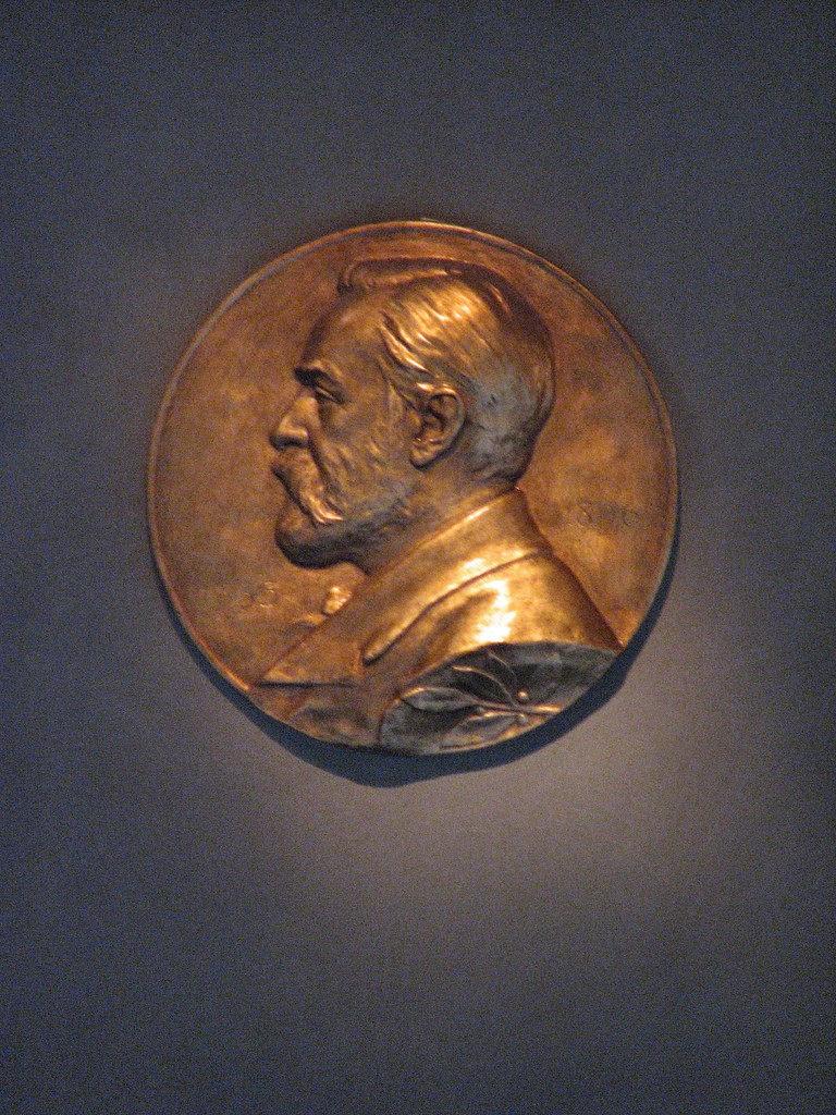 Alfred Nobel Plaque Stockholm City Hall