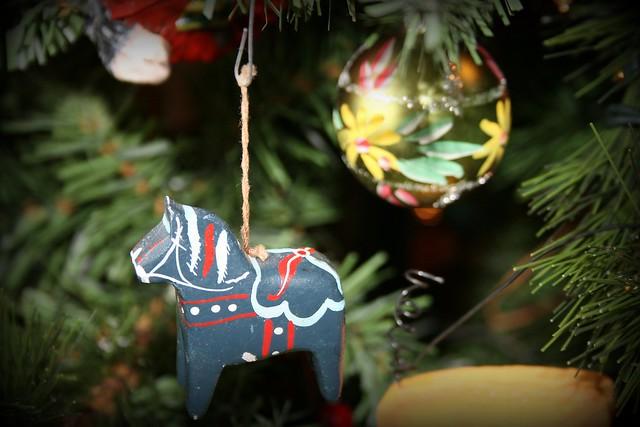 Christmas Horse Ornaments