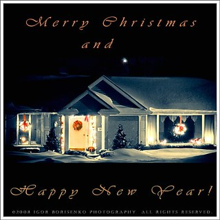 Merry Christmas & Happy New Year! :-))