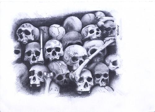 Skulls .:drawing:.
