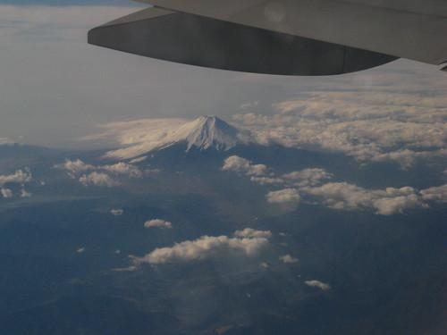 Fuji-san from the plane