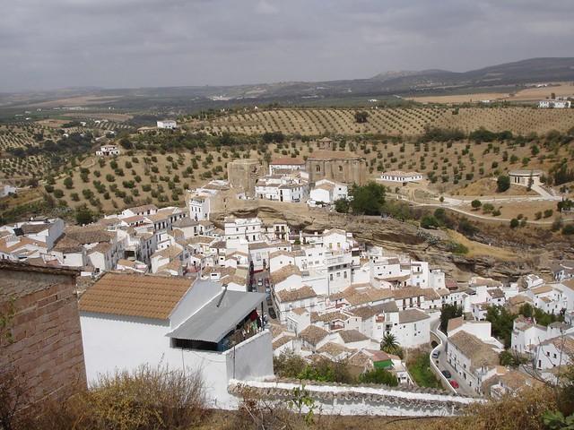 Setenil de las Bodegas - Andalucia, Spain - September 2008