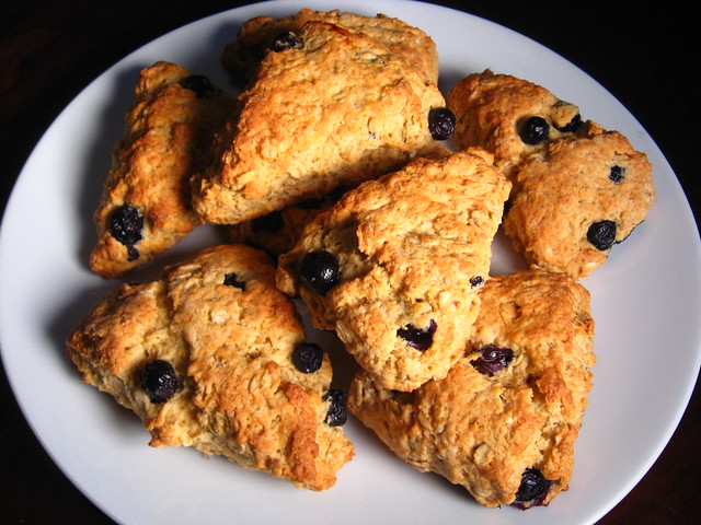 Scottish Oat Scones with Blueberries | Flickr - Photo Sharing!