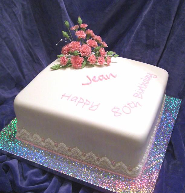 Jean Birthday Cake