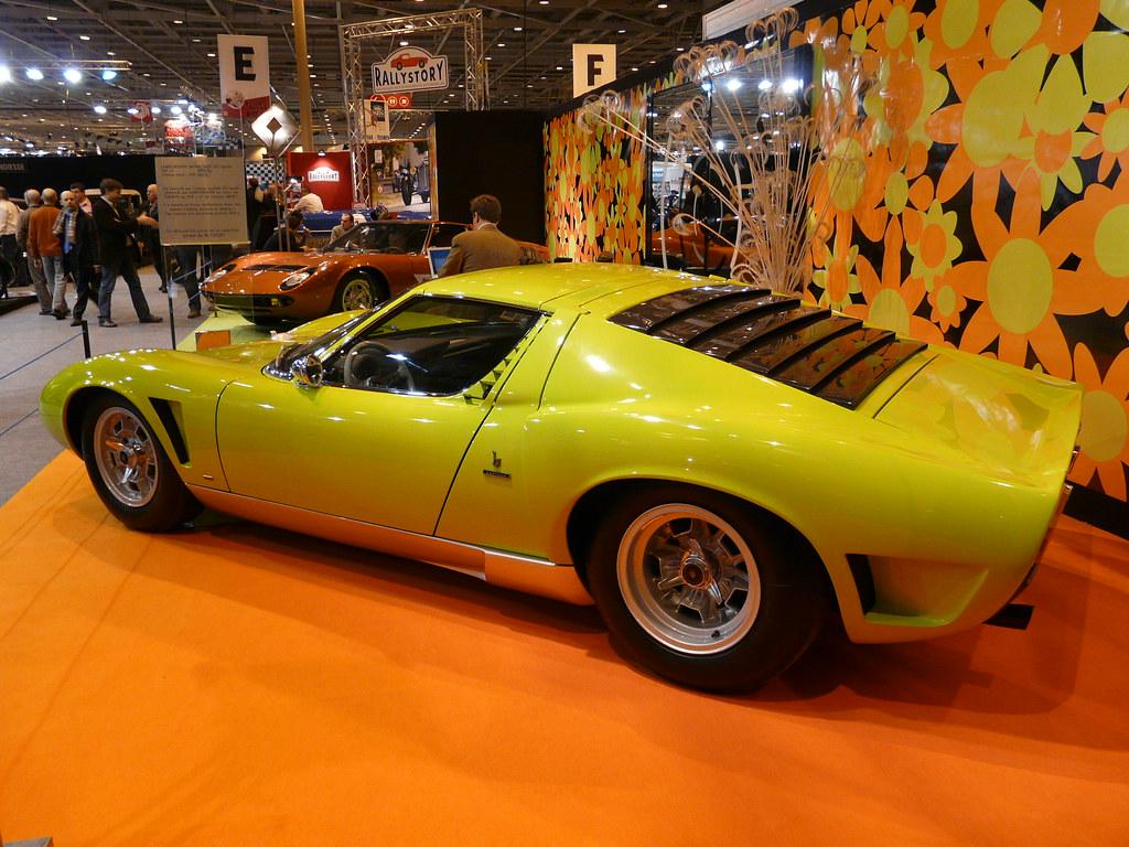 Lamborghini Miura Sv Jota Benoit Dujardin Flickr