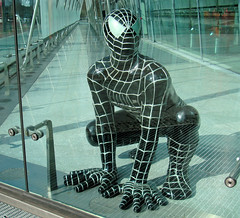 Caged Spiderman