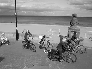 cycling on the promenade 3
