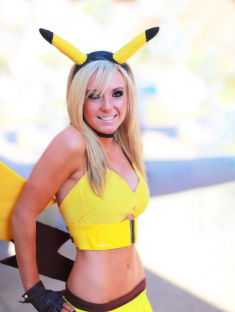 All pikachu cosplay jessica nigri