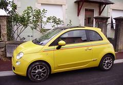 Fiat 500 giallo - modello 2007