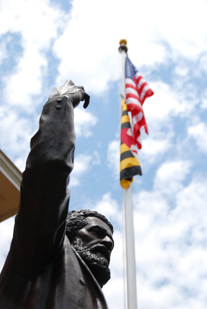 Frederick Douglass statue, Easton, Maryland. Source: Benjamin Skolnik