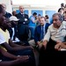 UNHCR News Story: Angelina Jolie and UNHCR chief Guterres visit boat people on Italian island