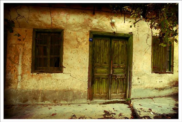 Abandoned house, Evrychou village