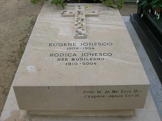 Eugene Ionesco's grave