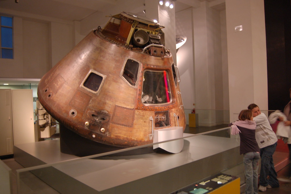Apollo 10 lunar capsule at the Science Museum - Download