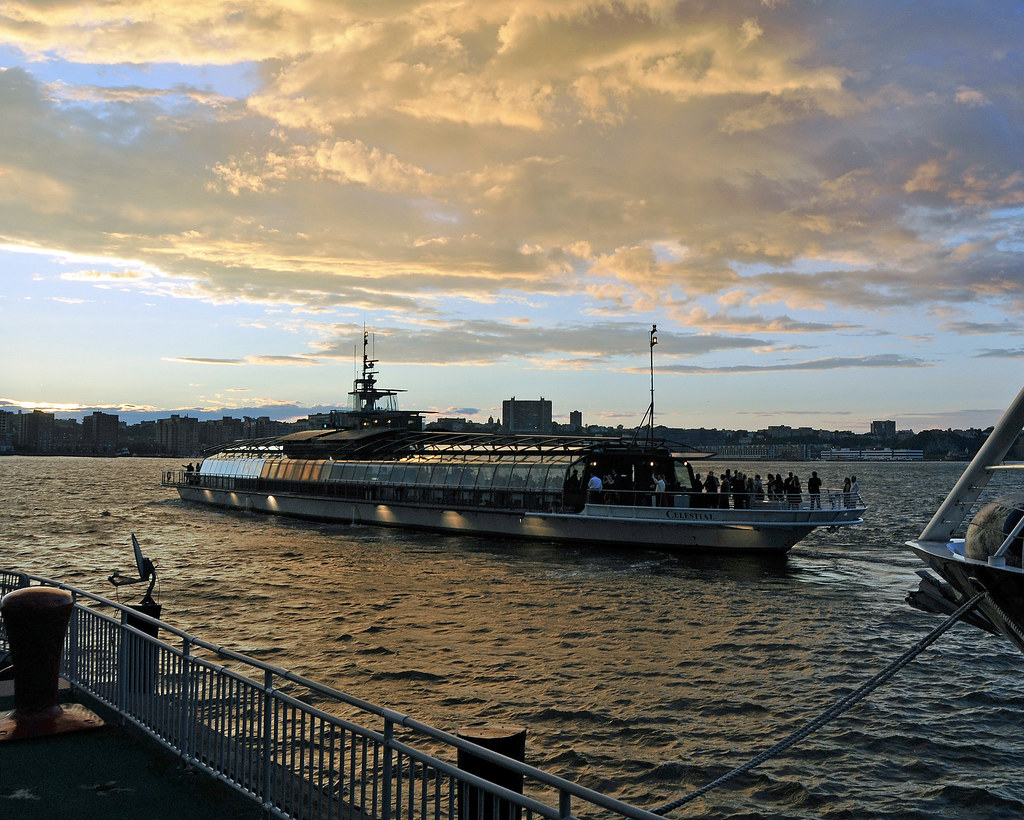Celestial Sunset Dinner Cruise, Pier 61, Chelsea, NYC