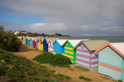 Brighton Beach Huts 3 by brettm8