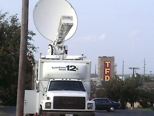 Channel 12 News Truck 21 August 2008