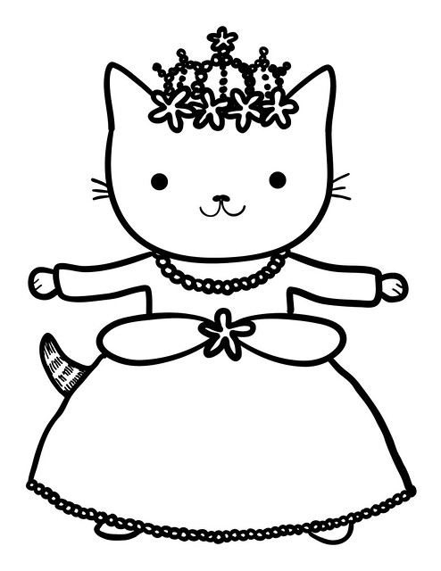 Do you want to color princess kitty flickr photo sharing Coloring book for 1 year old