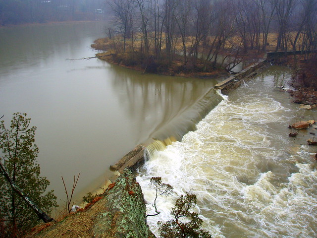 Cacapon River Dam At The Old Power Plant Flickr Photo