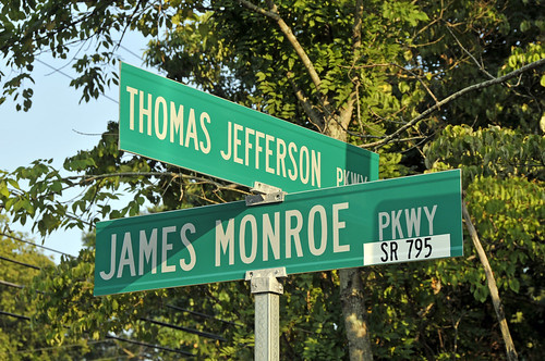 The True Corner of Jefferson and Monroe (and the Virginia Dynasty)