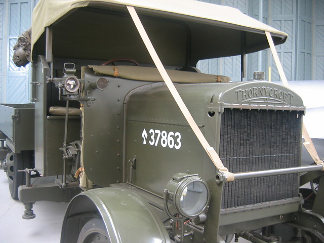 Thornycroft lorry.