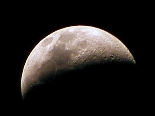 Moon with Fuji S5700