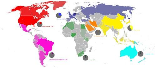 internet users around the world