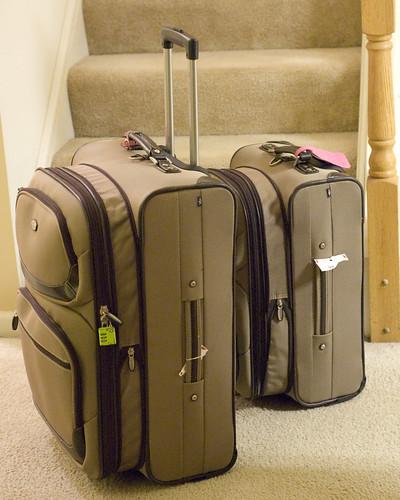 364/366: new suitcases