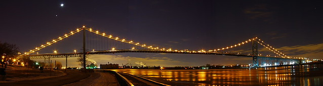 Ambassador Bridge on 31st December 2008