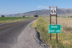 Idaho State Line