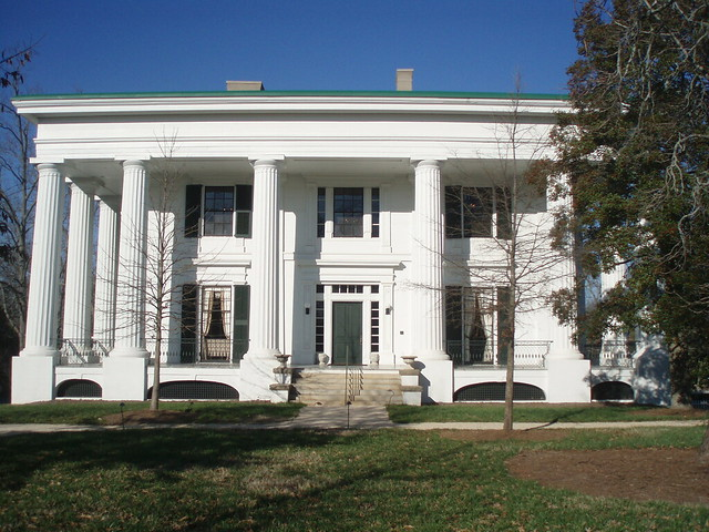 Taylor Grady House Ca 1844 This Outstanding Greek