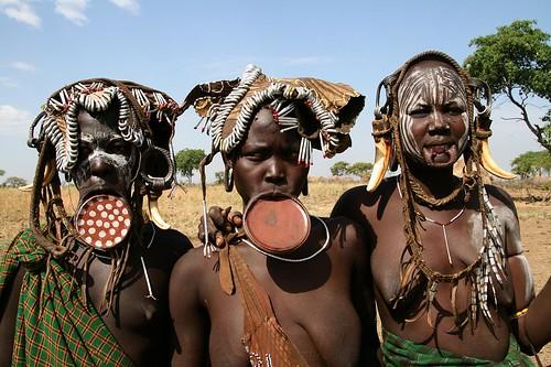 Ethiopia - Mursi Tribe