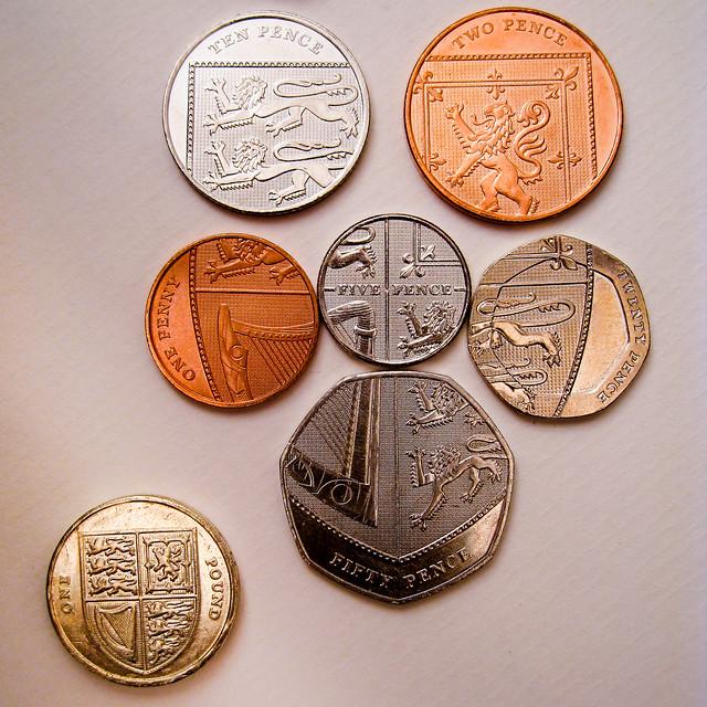 2009 UK Royal Shield coins