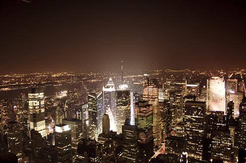 Vista nocturna de New York   Flickr   Photo Sharing!