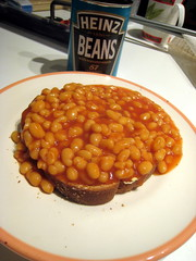 British Baked Beans on Toast