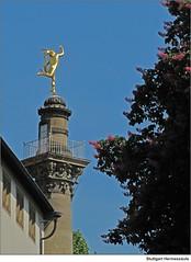 Stuttgart: Hermessäule