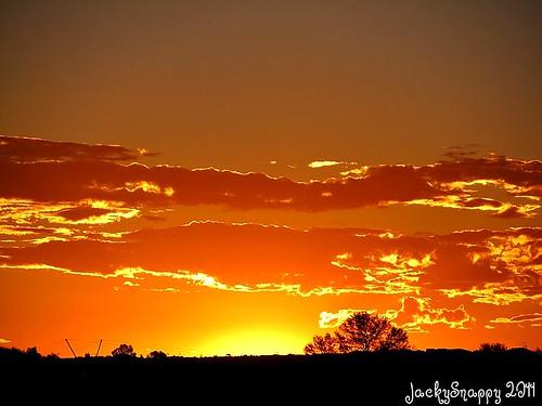sunset northerncape fluitjieskraal