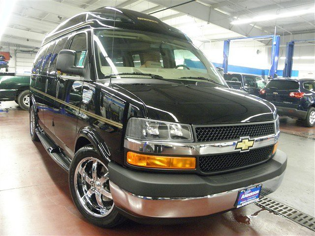 2011 Chevrolet Express Cargo Van Yf7 Upfitter Rwd Luxury