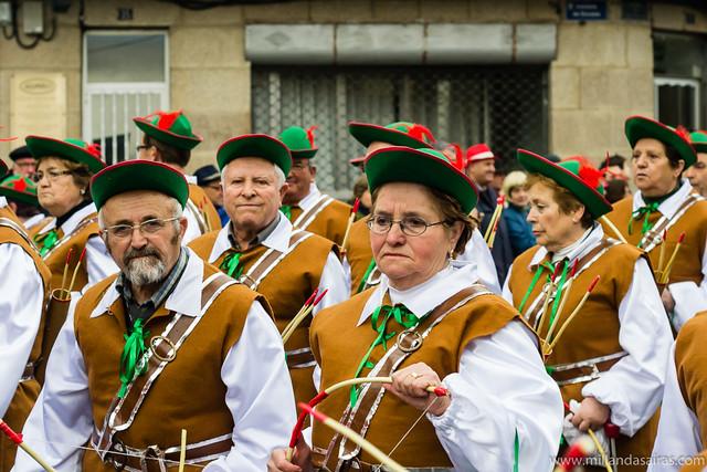Desfile en Verín