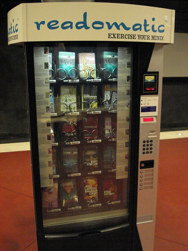 Book vending machine!