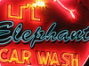 Li'l Elephant Car Wash by Vintage Roadside